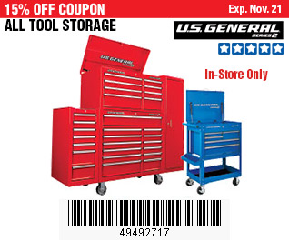 All Tool Storage on Sale, no Excusions