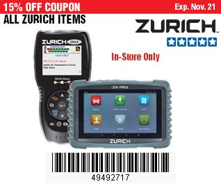 All Zurich Items on Sale, no Excusions