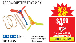 Arrowcopter® Toys 2 Pk
