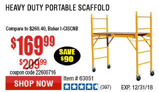 Heavy Duty Portable Scaffold