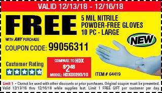 Free gloves
