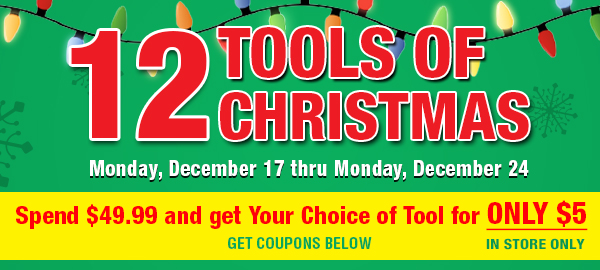 12 Tools of Christmas Sale