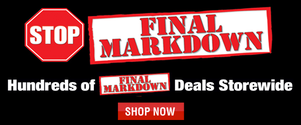 January Final Markdown Sale
