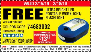 Free 3-1/2 in. Mini Flashlight