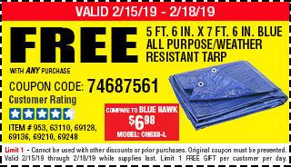 Free tarp