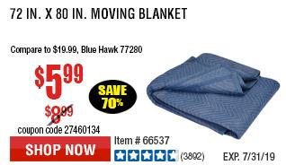 72 in. x 80 in. Moving Blanket