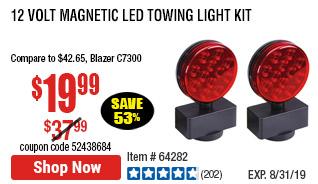 12 Volt Magnetic LED Towing Light Kit