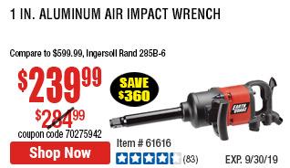 1 in. Aluminum Air Impact Wrench