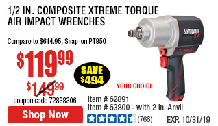 1/2 in. Composite Xtreme Torque Air Impact Wrench