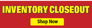 Inventory Blowout Coupons