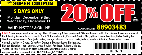 20% Off Web Only