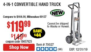 4-in-1 Convertible Hand Truck