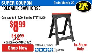 Foldable SawhorseFoldable Sawhorse