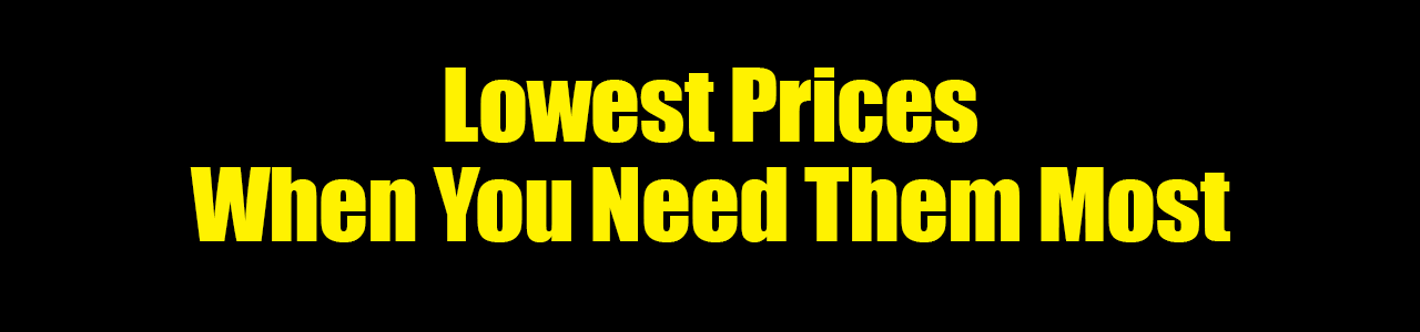 Lowest Prices Sale