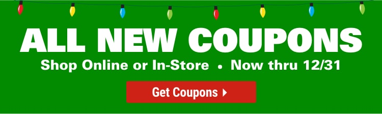 Coupons for your December needs mobile view