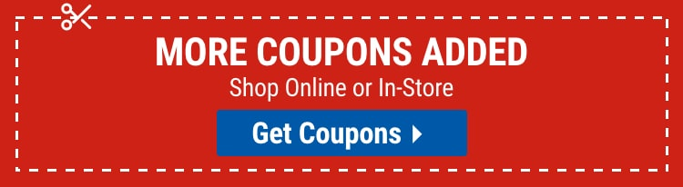 Coupons for your August needs mobile view