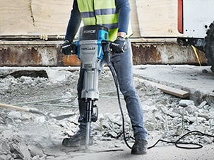 Bauer concrete mixers