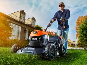 Atlas Electric Mower for your garden