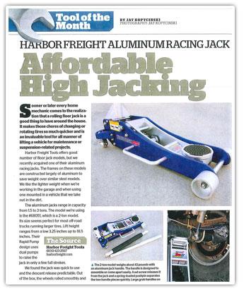 2 Ton Aluminum Racing Floor Jack With RapidPump