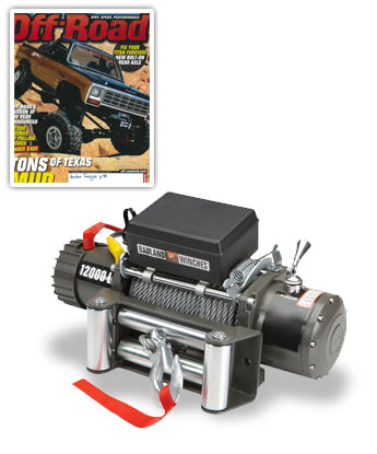 2000 Lb. Off-Road Vehicle Electric Winch With Automatic Load-Holding Brake
