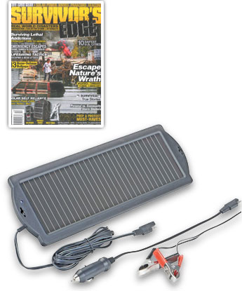Survivor's Edge magazine - 1.5 Watt Solar Battery Charger