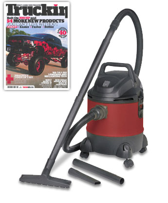 5 Gallon wet/dry vacuum cleaner and blower
