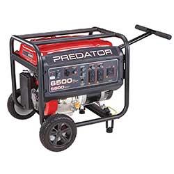6500 Watt Max Starting Gas Powered Generator - EPA III