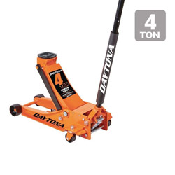 4 ton Professional Rapid Pump® Floor Jack, Orange