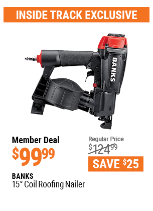 15° Coil Roofing Nailer