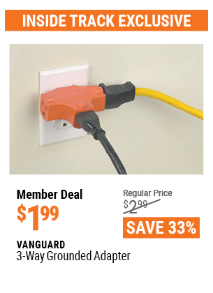 3-Way Grounded Adapter