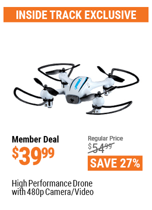 High Performance Drone With 480p Camera/Video