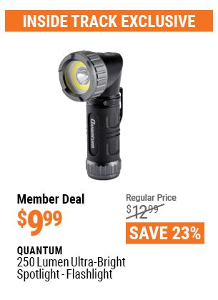 250 Lumen Ultra-Bright Mini Spotlight-Flashlight
