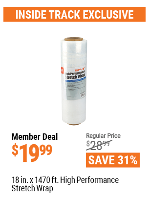 18 In. X 1470 Ft High Performance Stretch Wrap