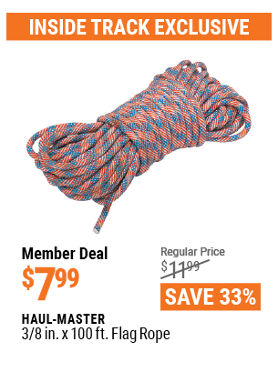 3/8 In. X 100 Ft. Flag Rope