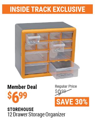 12 Drawer Storage Organizer