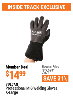 Professional MIG Welding Gloves, X-Large