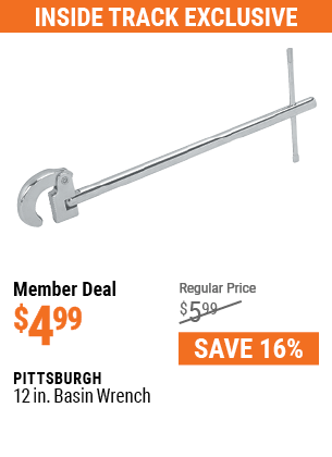 12 In. Basin Wrench