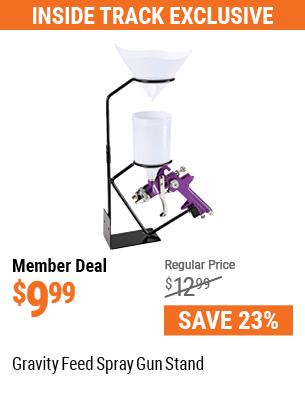 Gravity Feed Spray Gun Stand