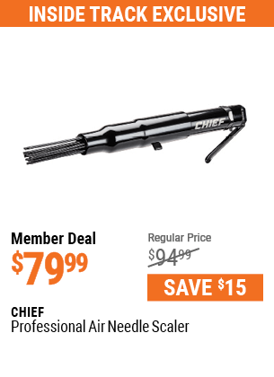 Professional Air Needle Scaler