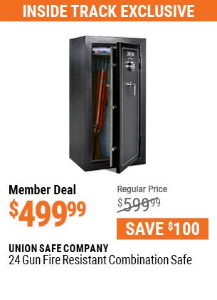 24 Gun Fire Resistant Combination Safe