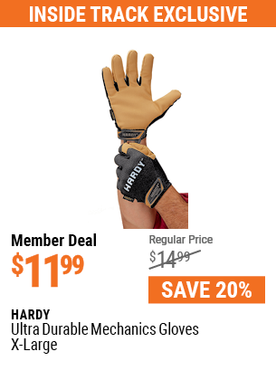 Ultra Durable Mechanics Gloves X-Large