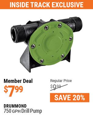 750 GPH Drill Pump