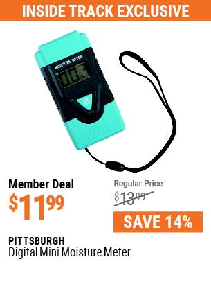 Digital Mini Moisture Meter