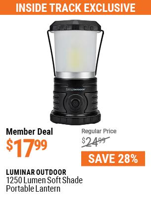 1250 Lumen Soft Shade Portable Lantern