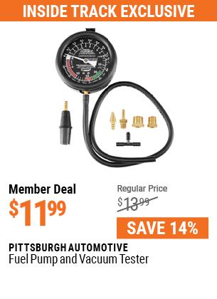 Fuel Pump and Vacuum Tester