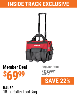 18 in. Roller Tool Bag