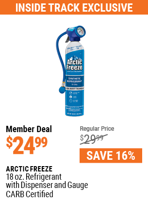 18 oz. Refrigerant with Dispenser and Gauge - CARB Certified