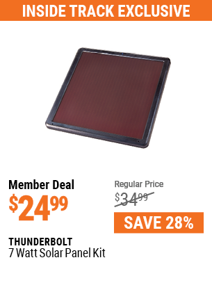 7 Watt Solar Panel Kit