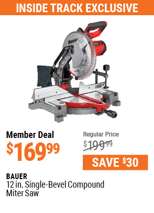 12 in. Single-Bevel Compound Miter Saw