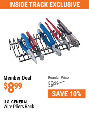 Wire Pliers Rack